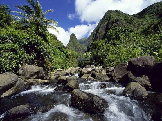 Iao Needle Iao Valley State Park Maui Hawaii
